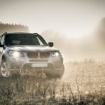 BMW SUV in a Field